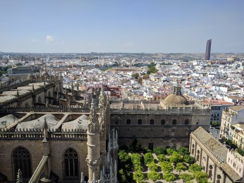 The view from the tower of the Alcazar.