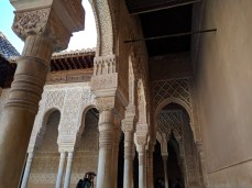 Just a small glipse at the beauty of the Alhambra.
